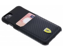 Ferrari Zwart Carbon Card Hardcase iPhone 8 / 7