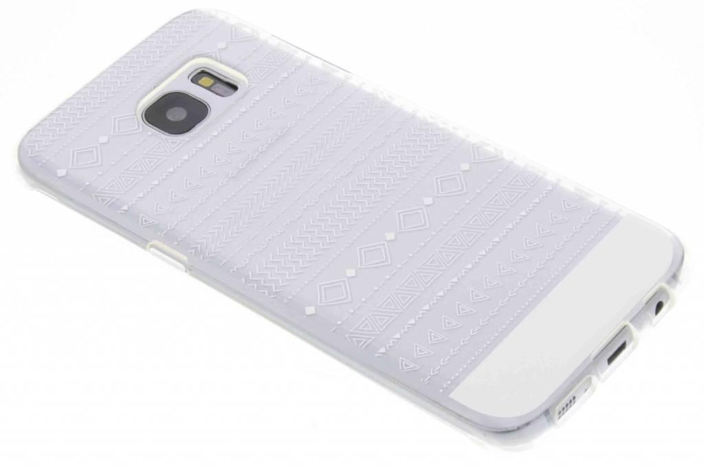 Aztec transparant festival TPU hoesje voor de Samsung Galaxy S7 Edge
