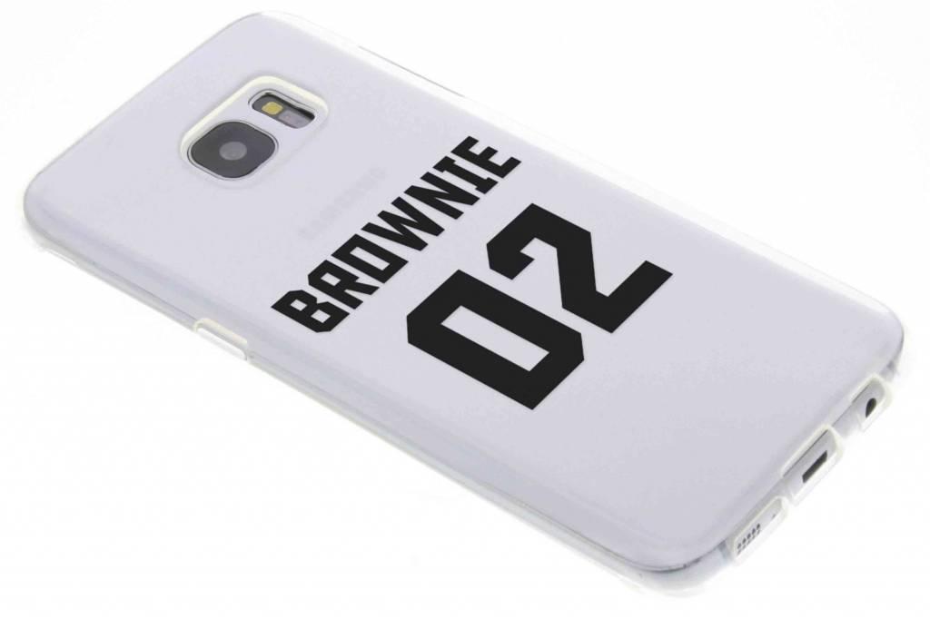 BFF Brownie Love TPU hoesje voor de Samsung Galaxy S7 Edge