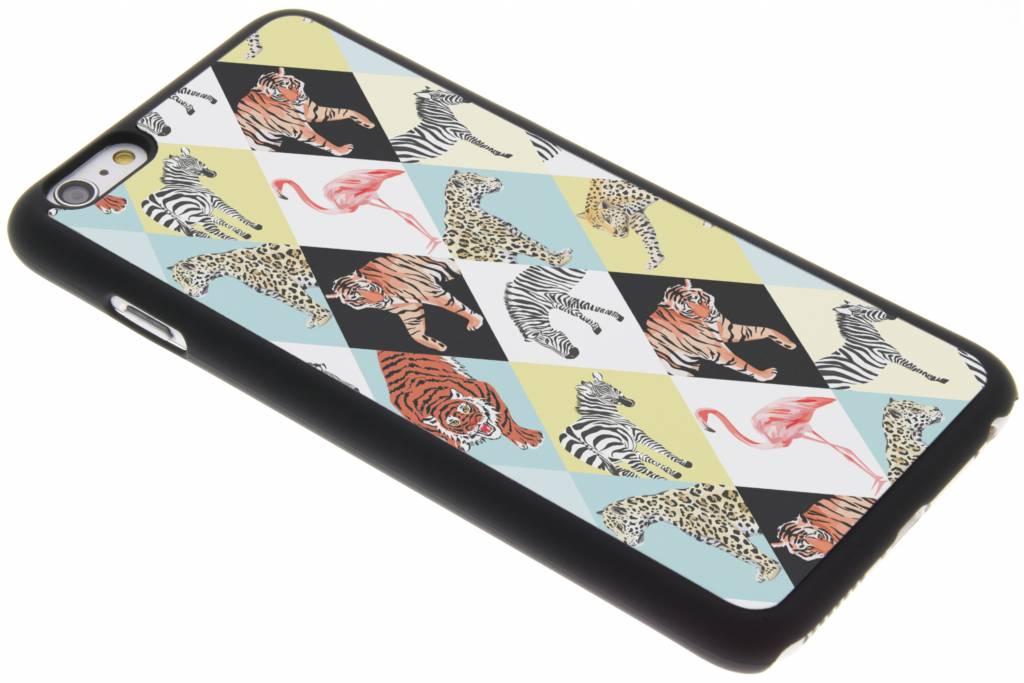 Jungle dieren design hardcase hoesje voor de iPhone 6(s) Plus