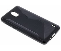 Zwart S-line TPU hoesje Nokia 2