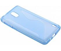 Blauw S-line TPU hoesje Nokia 2