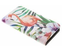 Flamingo Design Booklet Samsung Galaxy Xcover 4