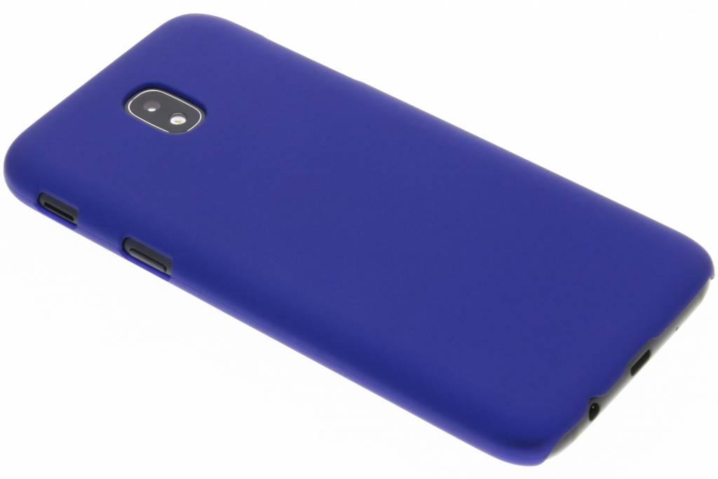 Blauw effen hardcase hoesje voor de Samsung Galaxy J5 (2017)