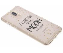 Quote design TPU hoesje Huawei Mate 10 Lite
