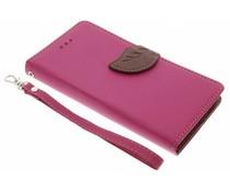 Blad design TPU booktype Samsung Galaxy Xcover 4