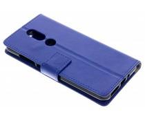Blauw TPU Bookcase Wiko View Prime