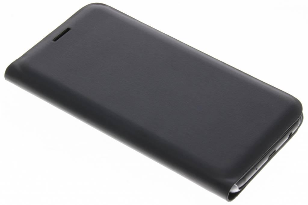 Luxe Noir Cas Intelligent De Type Livre Pour Samsung Galaxy A3 (2017) yELfk4y