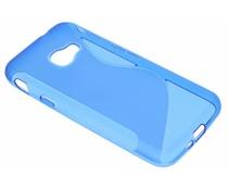 Blauw S-Line TPU hoesje Samsung Galaxy Xcover 4