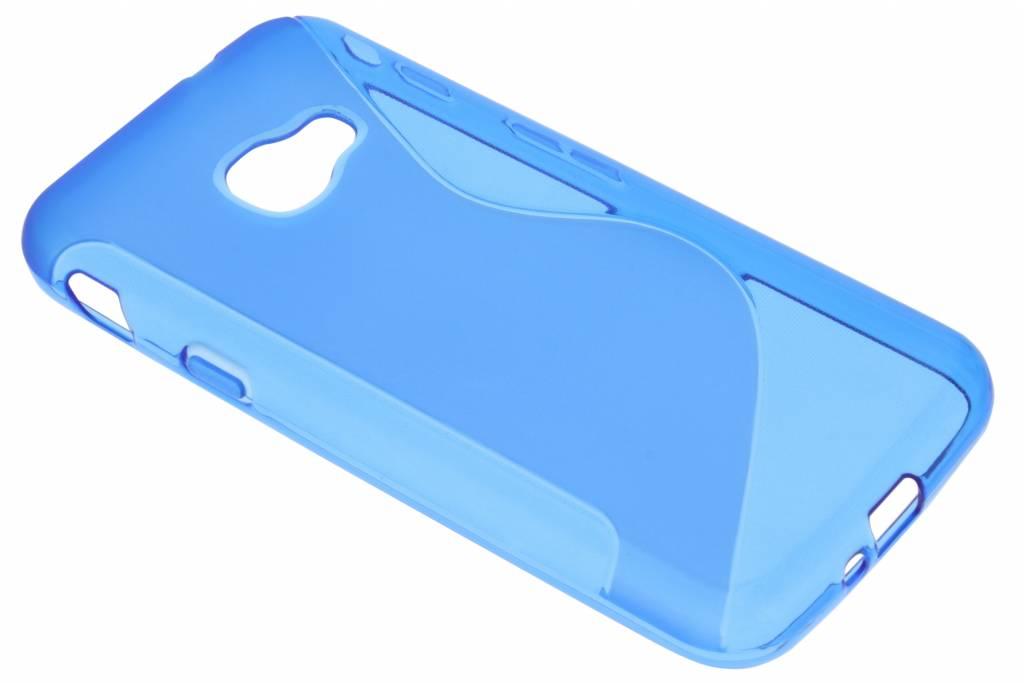 Blauw S-Line TPU hoesje voor de Samsung Galaxy Xcover 4