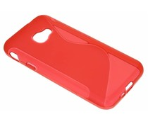 Rood S-Line TPU hoesje Samsung Galaxy Xcover 4
