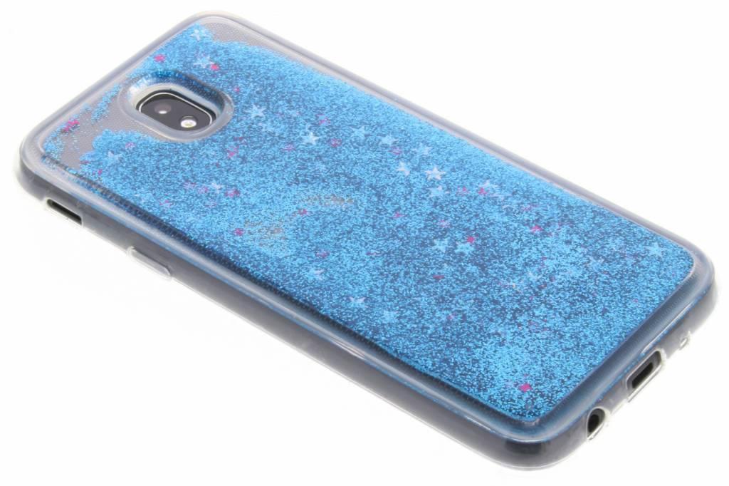 Cas De Scintillement Liquide Bleu Pour Samsung Galaxy J5 (2017) Z0aQUVQuyO