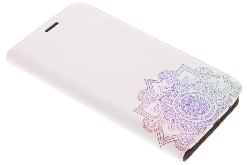 Multicolor Mandala Design Booklet voor de Samsung Galaxy J5 (2017)