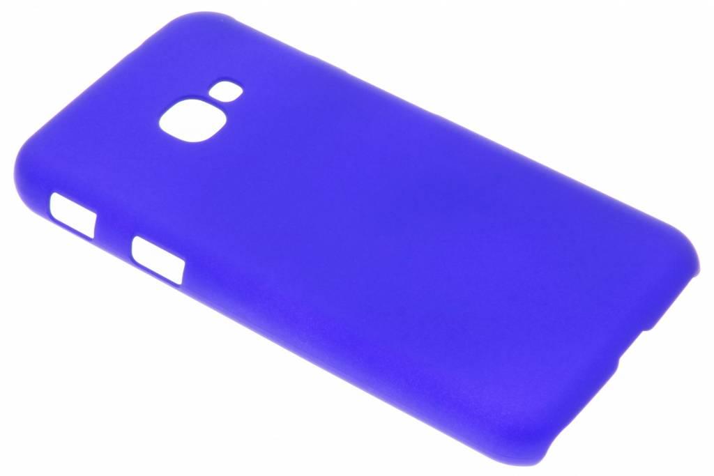 Blauw effen hardcase hoesje voor de Samsung Galaxy Xcover 4
