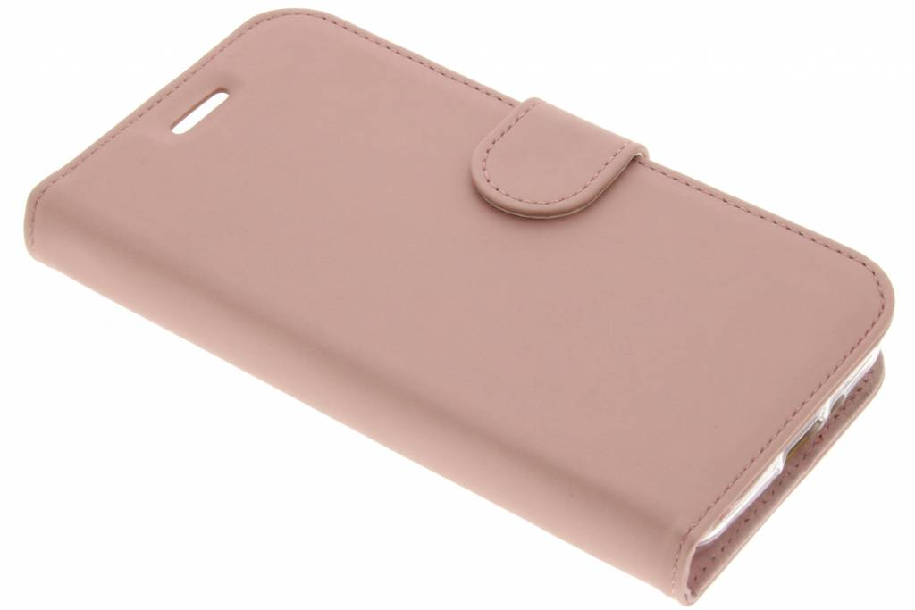 Accezz Rosé Gouden Wallet TPU Booklet voor de Samsung Galaxy Xcover 4