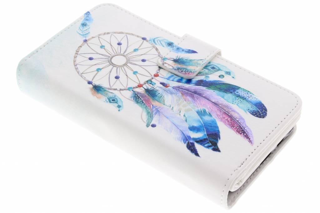 Dromenvanger design TPU portemonnee voor de Samsung Galaxy J5