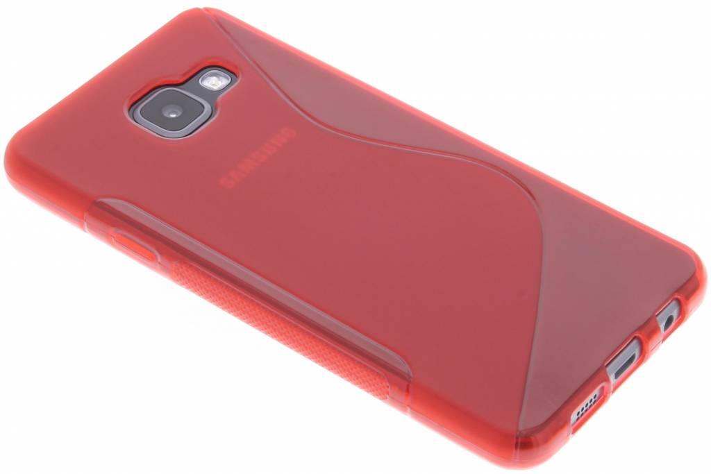 Rood S-line TPU hoesje voor de Samsung Galaxy A3 (2016)