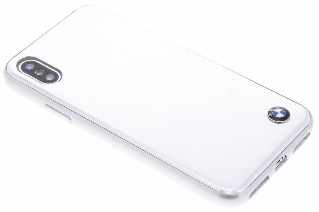 BMW Zilveren Brushed Aluminium Hard Case voor de iPhone X