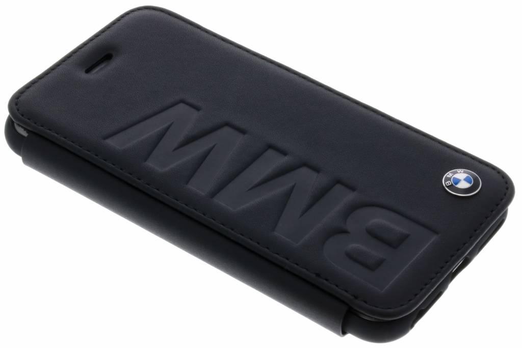 BMW Booktype case Debossed logo voor de iPhone 8 / 7 - Zwart