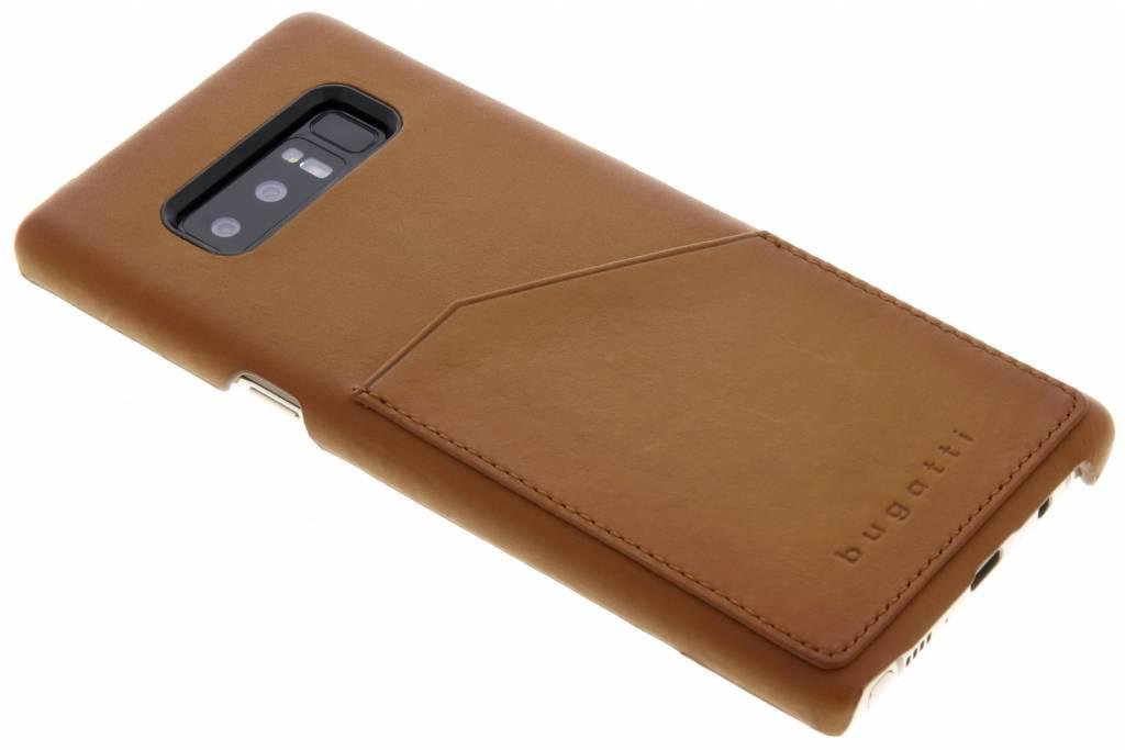 Bugatti Cognac Londra Snap Case voor de Samsung Galaxy Note 8