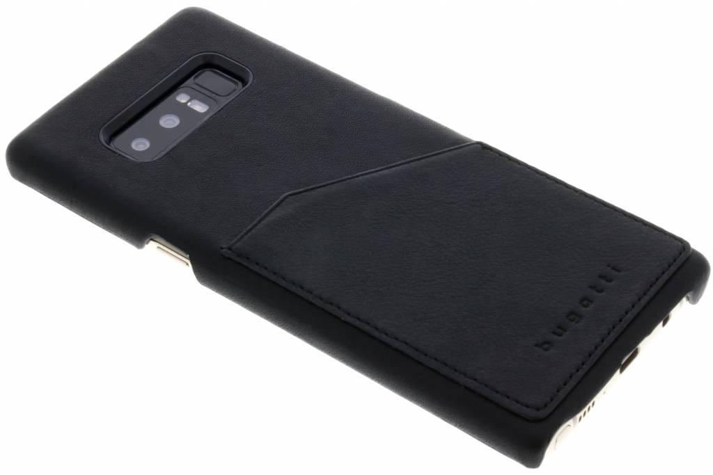 Bugatti Zwarte Londra Snap Case voor de Samsung Galaxy Note 8