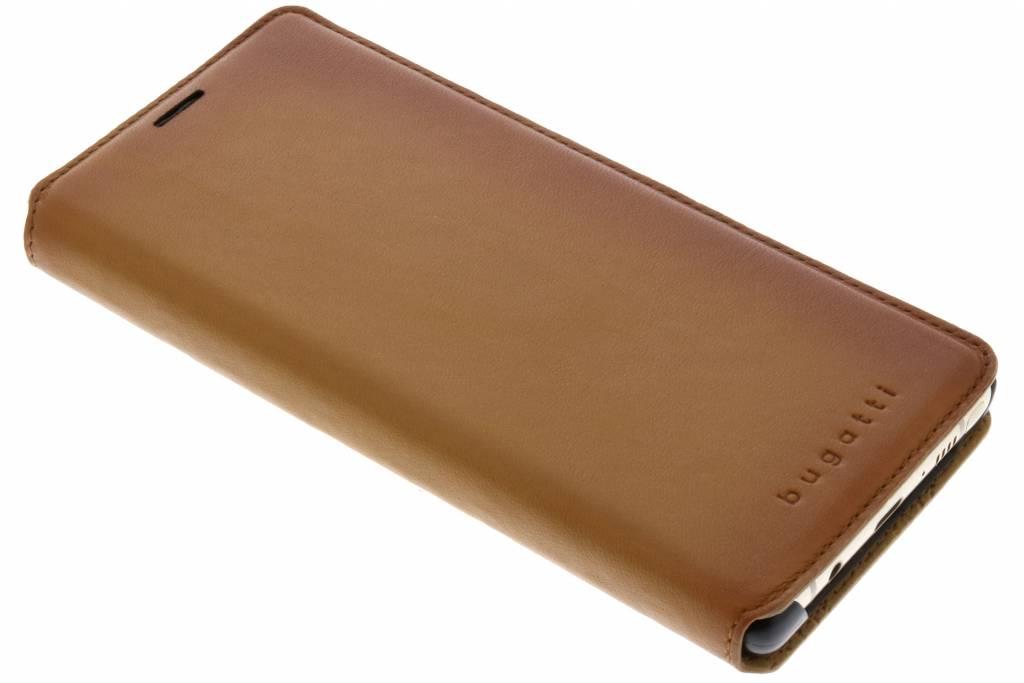 Bugatti Cognac Parigi Booklet Case voor de Samsung Galaxy Note 8