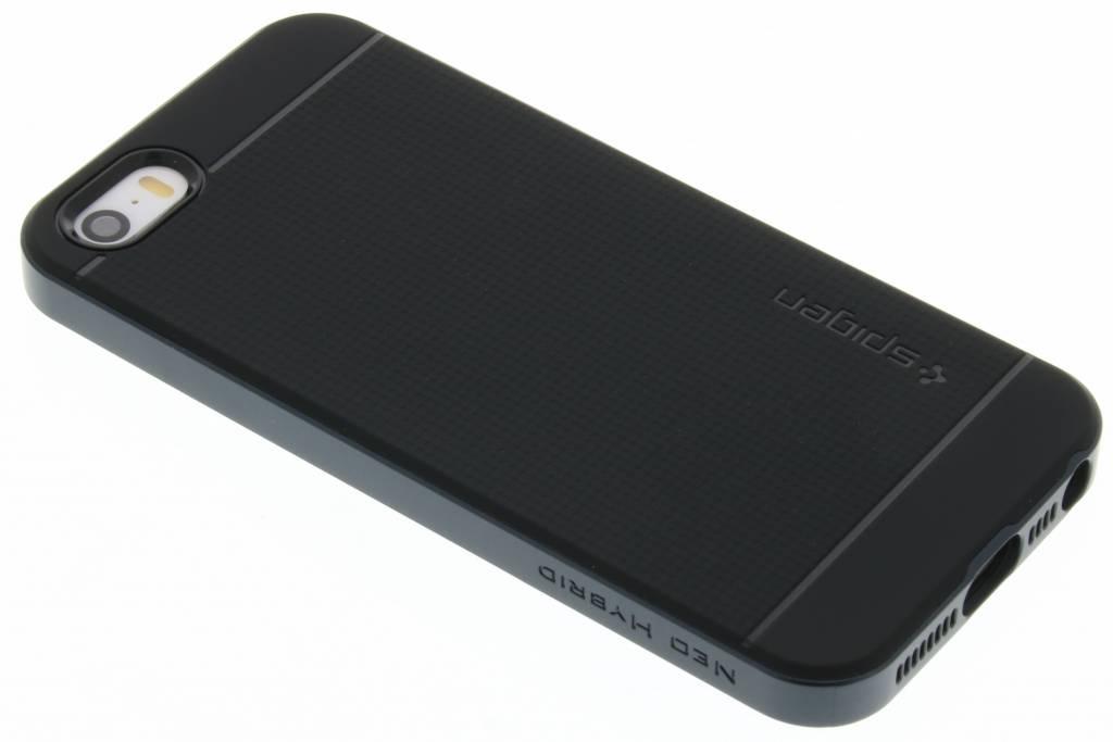 Spigen iPhone Backcover Geschikt voor model (GSM's): Apple iPhone SE Grijs