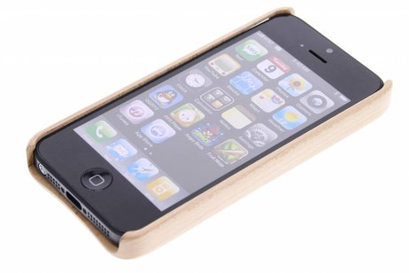 Hoesje Met Licht : Echt houten hardcase hoesje iphone s se