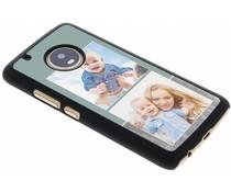 Ontwerp uw eigen Motorola Moto G5 Plus hardcase - Zwart