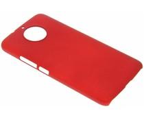 Effen hardcase hoesje Motorola Moto G6