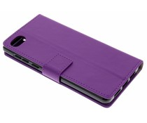 Paars TPU Bookcase BlackBerry Motion