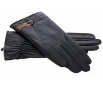 Echt lederen touchscreen handschoen - Maat L