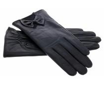 Echt lederen touchscreen handschoen - Maat M