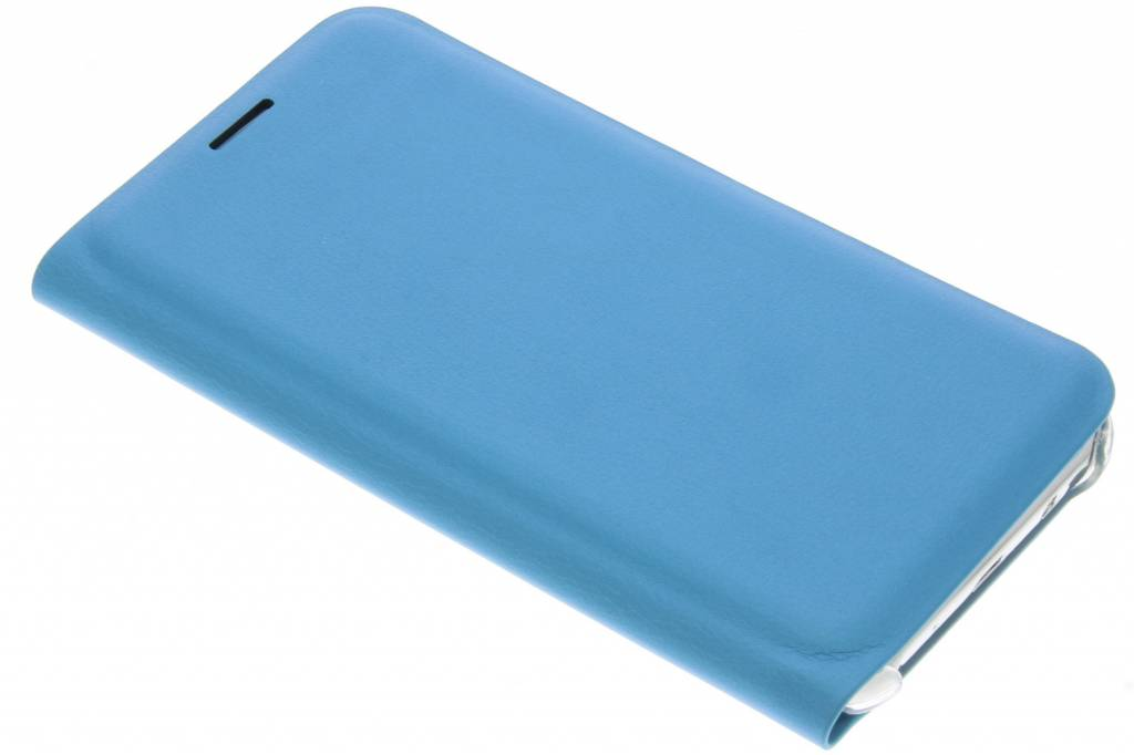Turquoise luxe slim booktype hoes voor de Samsung Galaxy J5