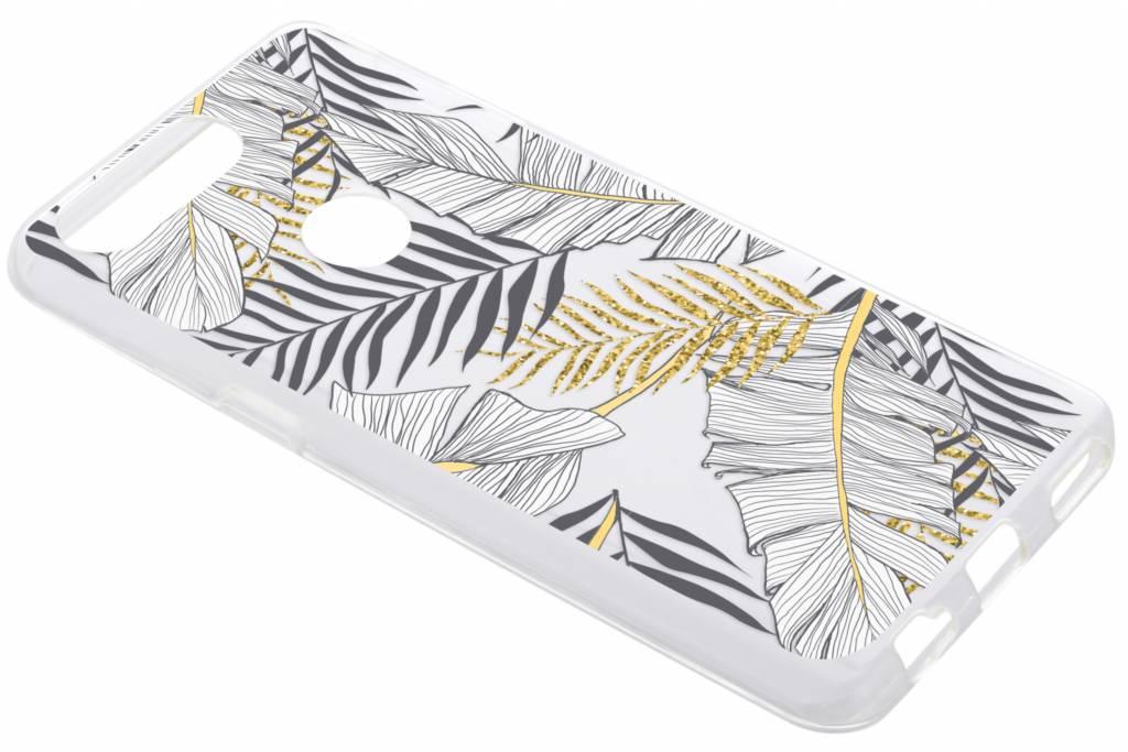 Botanic design siliconen hoesje voor de OnePlus 5T