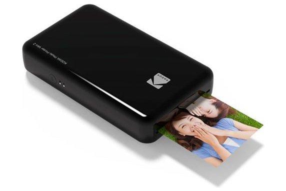 Kodak Fotoprinter Mini 2 Zwart