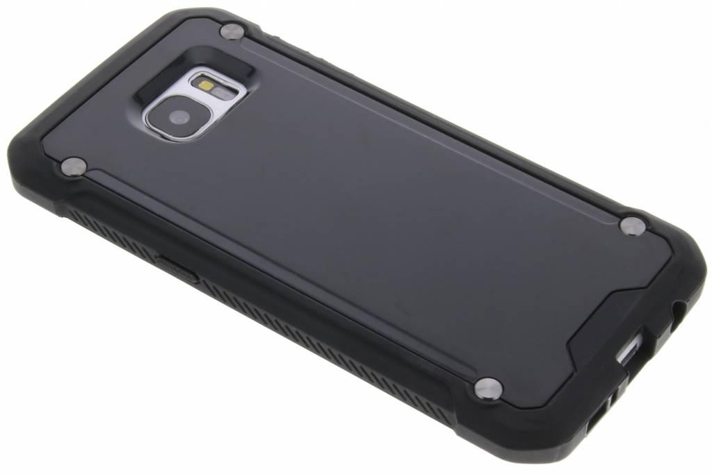 Zwarte defender hardcase voor de Samsung Galaxy S7 Edge