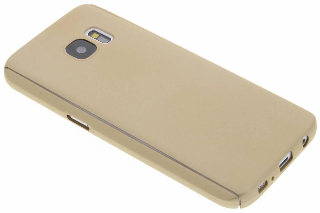 Gouden 360° effen protect case voor de Samsung Galaxy S7