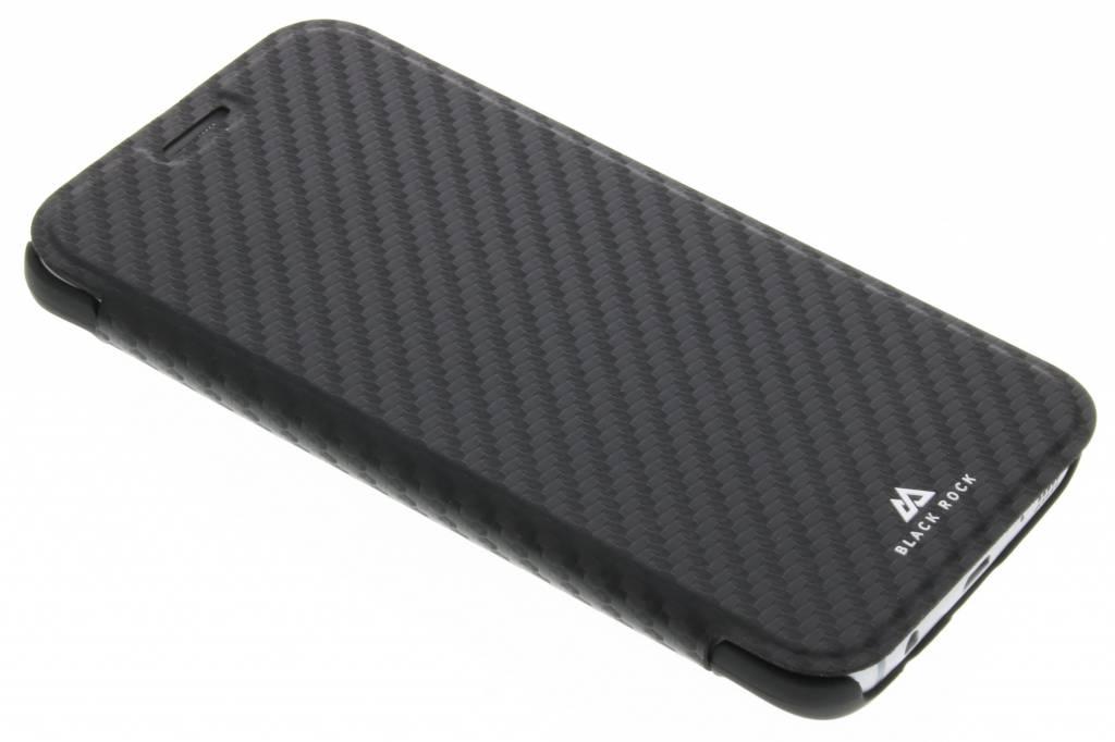 Black Rock Zwarte Flex Carbon Booklet Case voor de Samsung Galaxy S7