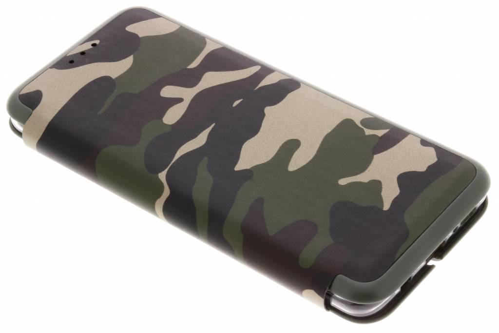 Groene Army Slim Folio Case voor de Samsung Galaxy S9 Plus