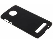 Zwart Effen hardcase hoesje Motorola Moto Z2 Force