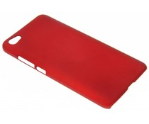 Rood effen hardcase hoesje Xiaomi Redmi Note 5A