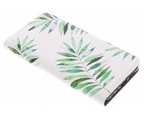 Palm Design TPU Booklet Huawei P10 Lite