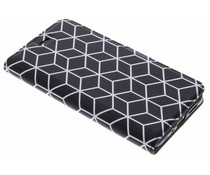 Cubes Design TPU Booklet Huawei P10 Lite