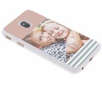 Ontwerp uw eigen Samsung Galaxy J3 (2017) hardcase - Wit