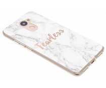 Quote design TPU hoesje Huawei Y7 Prime