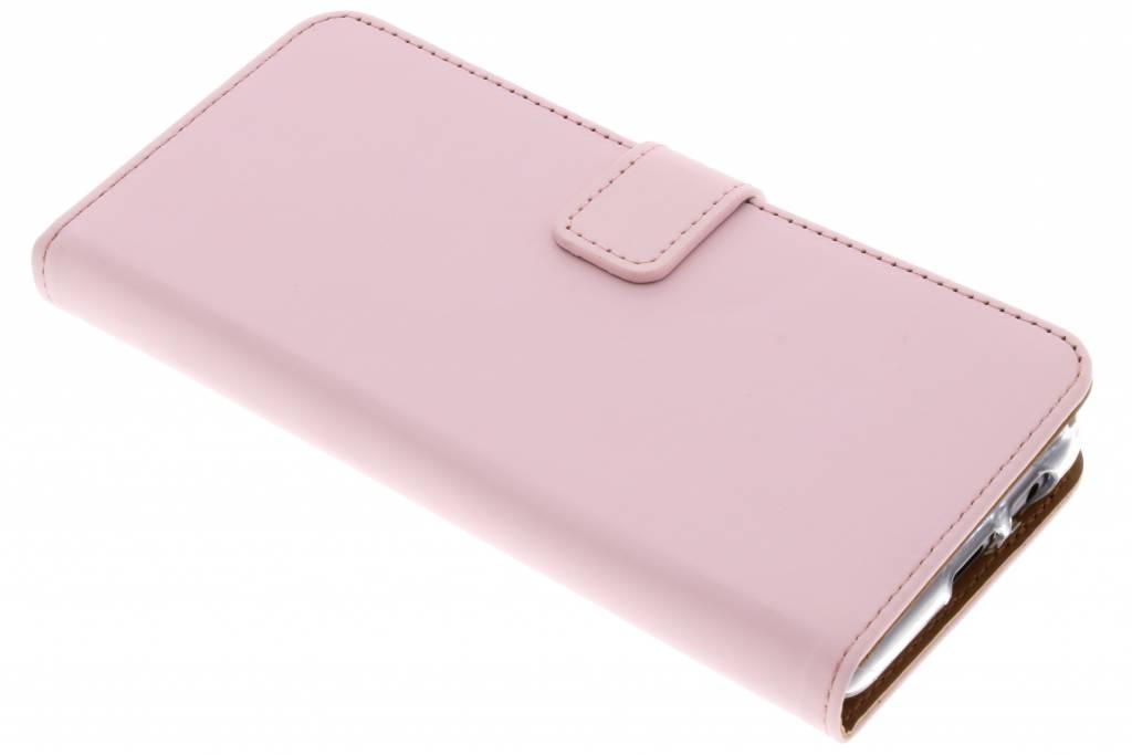 Roze Luxe TPU Book Case voor de Samsung Galaxy A8 (2018)