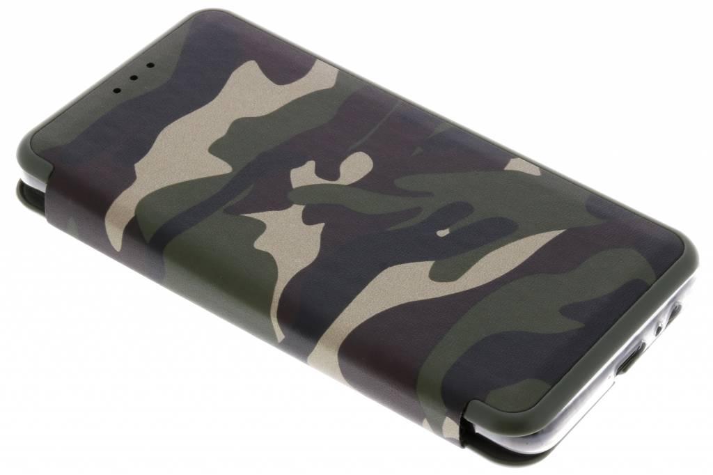 Groene Army Slim Folio Case voor de Samsung Galaxy A8 (2018)