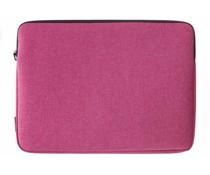 Gecko Covers Roze Universal Zipper Laptop Sleeve 17 inch