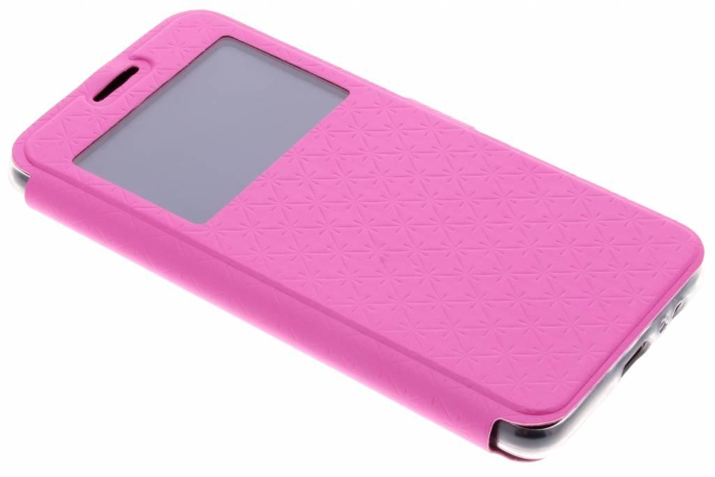 Roze Rhombus hoesje voor de Samsung Galaxy A8 (2018)